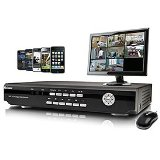 Swann 8-Channel DVR With 8 Cmos Cameras and Smartphone Viewing SWDVR-82600H