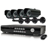 Swann Alpha D02C5 SWA43-D2C5 4 Channel H.264 DVR and 4 CCD Weather Resistant Cameras