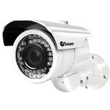 Swann SWPRO-980CAM-US Ultimate Optical Zoom Security Camera, Night Vision 131′ (White)