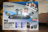SWANN PRO SECURITY IN A BOX 4 CAMERAS/500GB DVR SW-HomeDVR8