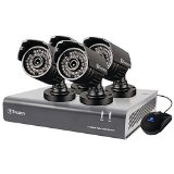 Swann SWDVK-844004A-US DVR8-4400 8 Channel 720p Digital Video Recorder & 4 x PRO-735 Cameras (Black)