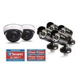 SWN26 – SWANN CCTV THEFT PREVENTION KIT FAKE SECURITY CAMERAS (DUMMY CAMERAS) & STICKERS PROTECTION STARTER KIT