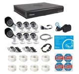 Swann 8 Channel 2TB HDD Security Sytem with 2 auto-focus Cameras 6 1080p Indoor/Outdoor Bullet Cameras