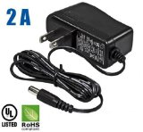 HDView® 12V DC 2A 2000mA Power Adapter Supply UL Listed Certified 2.1mm 5.5mm, CCTV *** Best Quality ***
