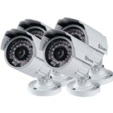 Swann SWPRO-642PK4-US PRO-642 Multi-Purpose Security Camera (White)